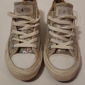 CONVERSE All Star Multi Colored Sparkle Sneakers